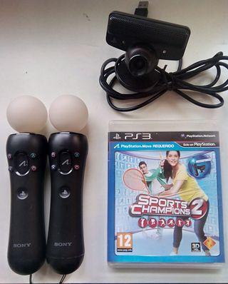 Mandos de movimiento PS3 Moves