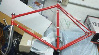 Cuadro bicicleta completo