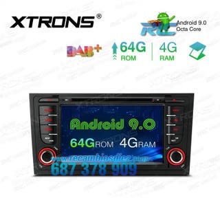 "RADIO GPS PANTALLA TÁCTIL 7"" AUDI"