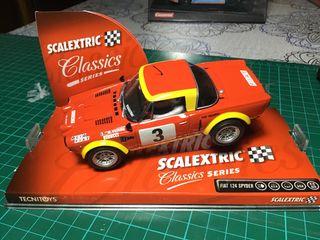 Scalextric Fiat 124 Spyder