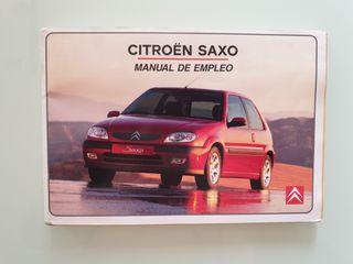 Manual de empleo Citroën Saxo