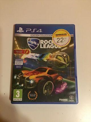 Rocket league videojuego ps4