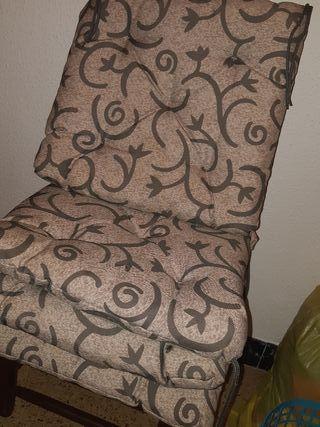 4 cojines par sillas muy esponjosos
