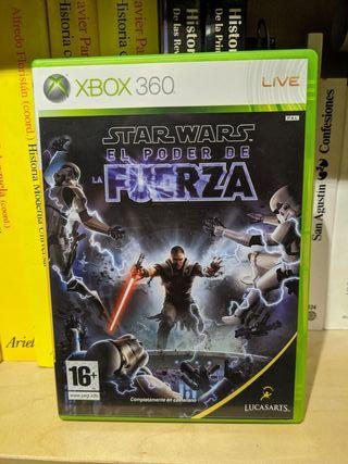 Star Wars El Poder de la fuerza - Xbox 360