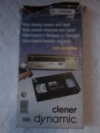 Video cleaning cassette. Clener dynamic. VHS.