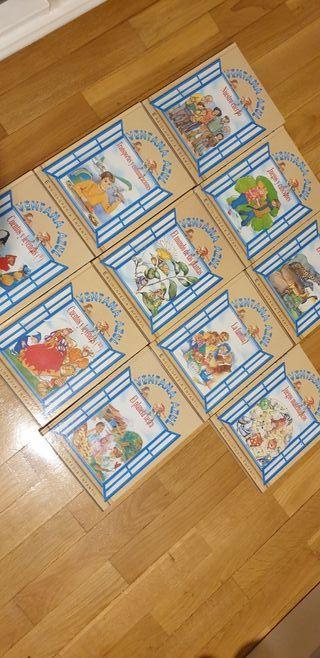 Emciclopedias infantil ventana azul