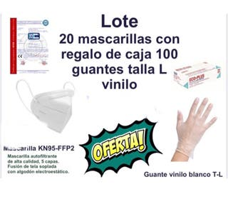 Pack guantes