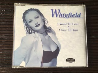 WHIGFIELD CD SINGLE I WANT TO LOVE