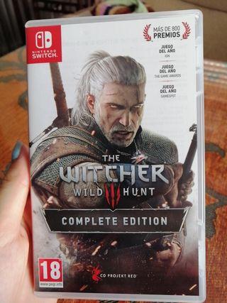The Witcher III Nintendo Switch