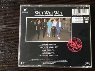 WET WET WET CD THE MEMPHIS SESSIONS