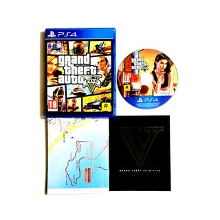 Videojuego Grand Theft Auto V Para PlayStation 4