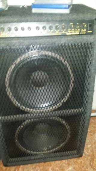 altavoz de feria con amplificador 300w