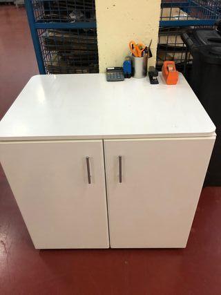 Mueble blanco almacenaje
