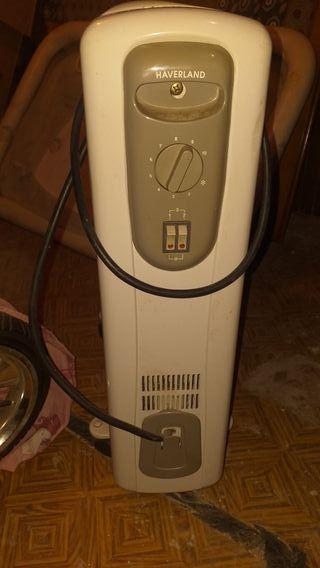 radiador de aceite usado muy pocas veces