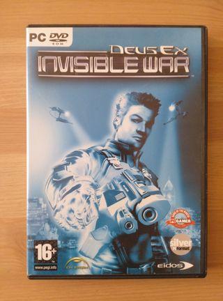 Juego PC: Deus Ex Invisible War