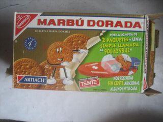 Caja Marbú Dorada Doradita Tente Doraditas