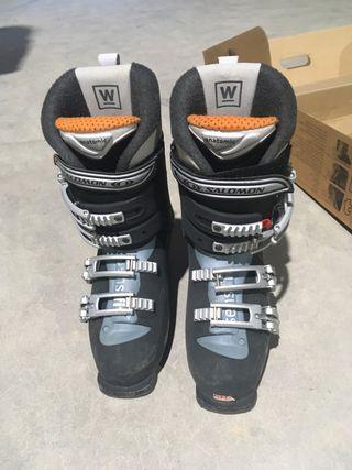 Botas de esquí Salomon- talla 39 2/3