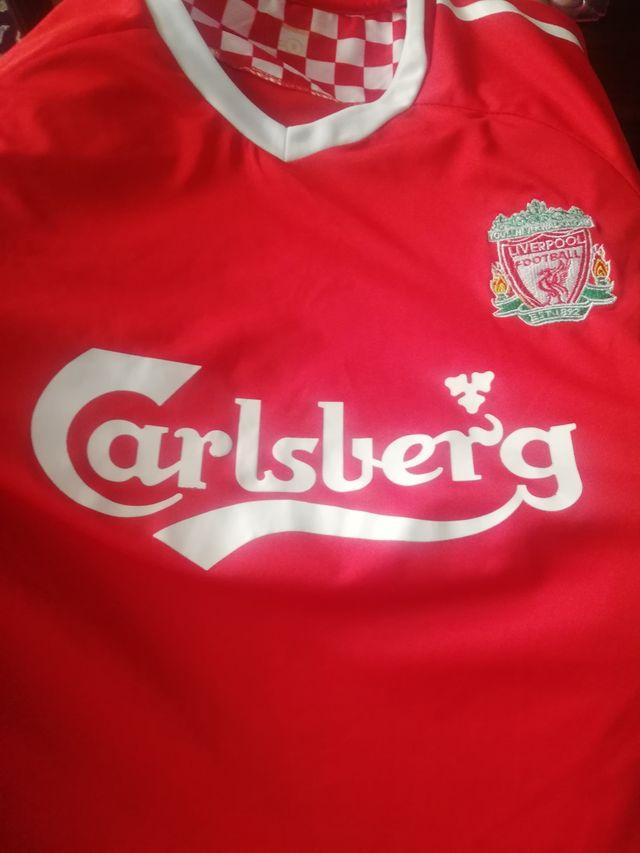 camiseta del Liverpool de torres