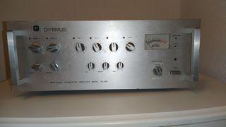 Amplificador Optimus PA 202 de 200W.
