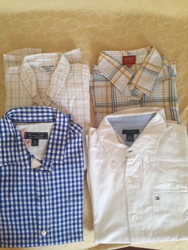 Lote camisas niño