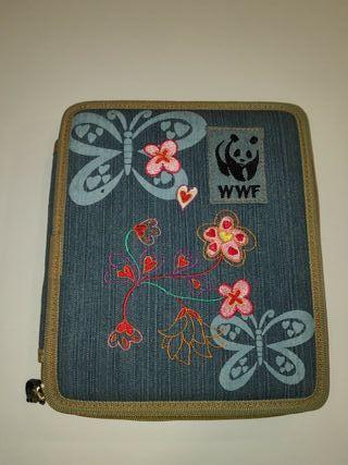 Estuche plumier escolar WWF