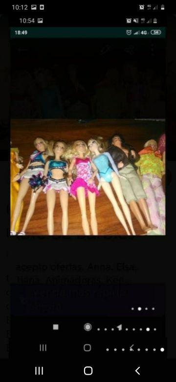 lote de Barbies
