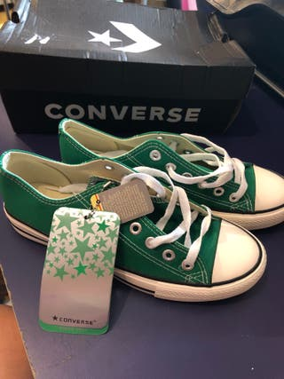 Converse All Star. Athletic originals color verde