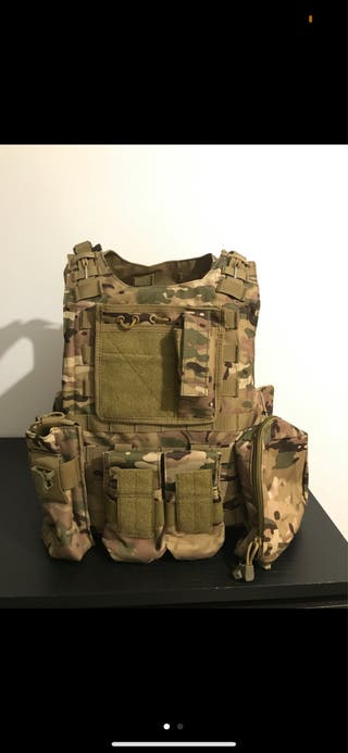 Chaleco Airsoft táctico