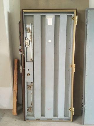 Puertas acorazadas y blindadas