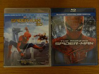 Spiderman Homecoming 3D y Amazing dos discos