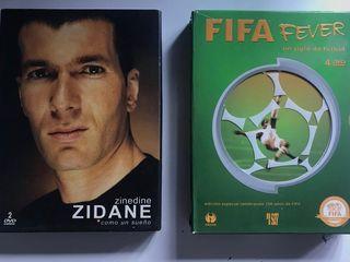 """PACK FIFA FEVER y ZINEDINE ZIDANE """"COMO UN SUEÑO"""""""