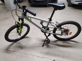 Bici decatlon rueda 20''