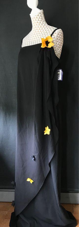 Vestido Negro Largo NUEVO