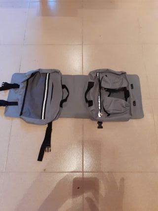 mochila excursión perro