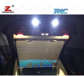KIT COMPLETO DE 22 BOMBILLAS LED INTERIOR PORSCHE