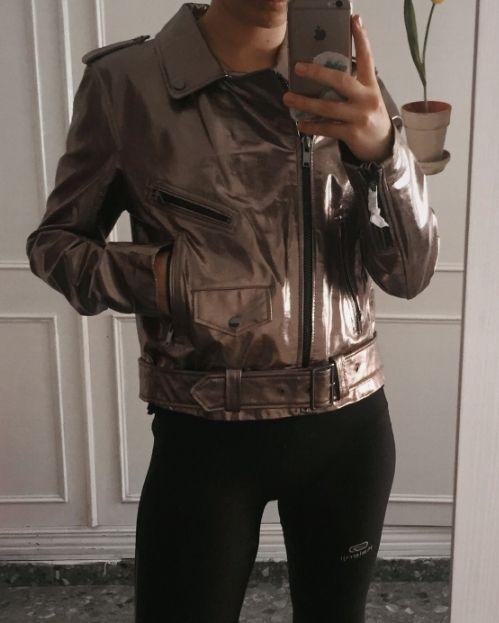 Chaqueta Zara piel NUEVO