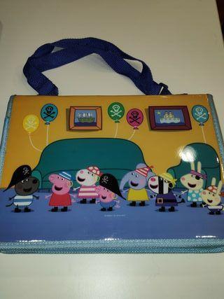 Maletin de arte Peppa Pig + regalo