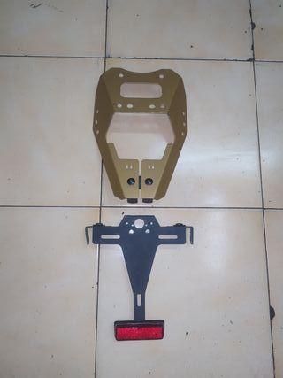 Portamatrícula Puig Yamaha Fz1
