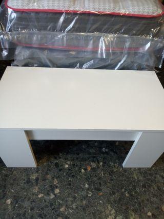 mesa elevable blanca