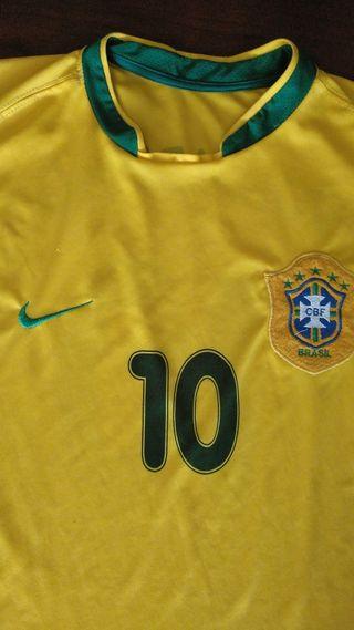 Camiseta Brasil 1998