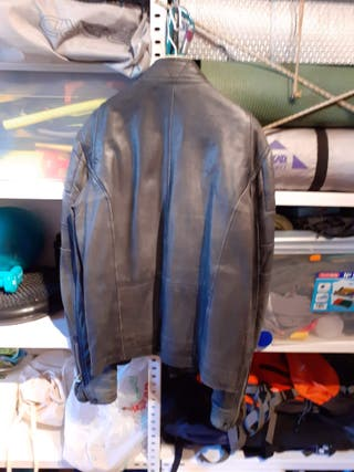 chaqueta de piel hombre