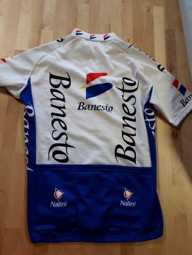 Maillot + culotte + guantes.Ciclismo. Banesto