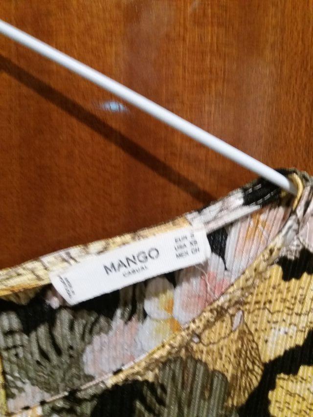 vestido MANGO talla S sirve M