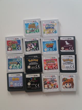 vendo lote de juegos nintendo 3ds y DS