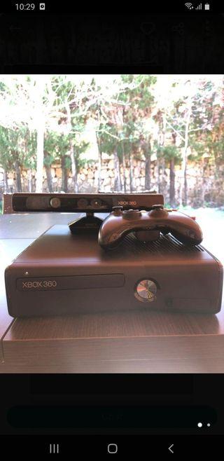 xbox 360 slim con kicnet