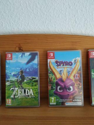 Zelda y spyro