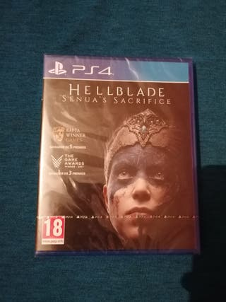 PS4 HELLBLADE SENUA'S SACRIFICE PS4 PRECINTADO