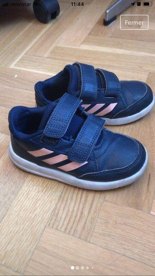 Zapatillas niña Adidas talla 25
