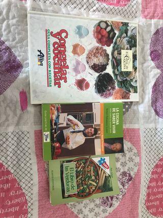 Libros de cocina 12€