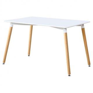 mesa nórdica + 4 sillas